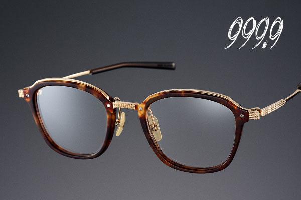 999.9フォーナインズの特徴:逆Rヒンジによりメガネの高耐久性を実現しました